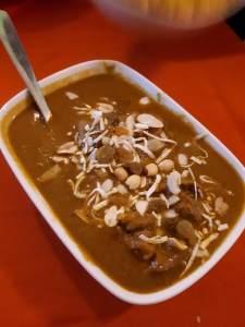 Pollo al curry especial