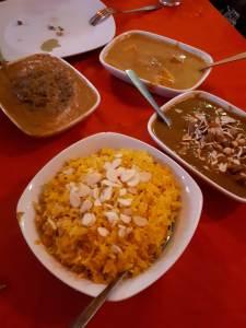 Restaurante de comida India en la CDMX
