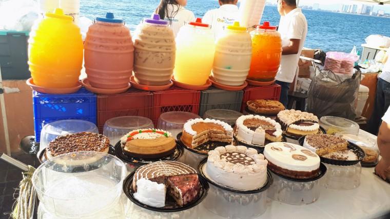 Comida en Puerto Vallarta