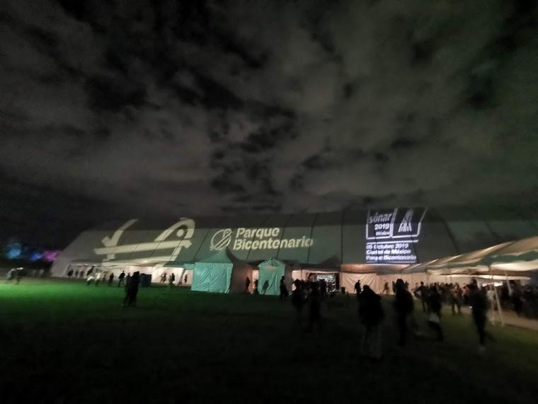 Parque Bicentenario concierto de Björk