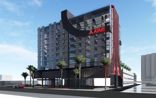 Hotel Atari con videojuegos incluidos