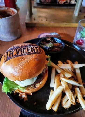 La Vicenta hamburguesas