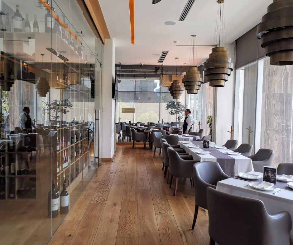 Mejores restaurantes de negocios