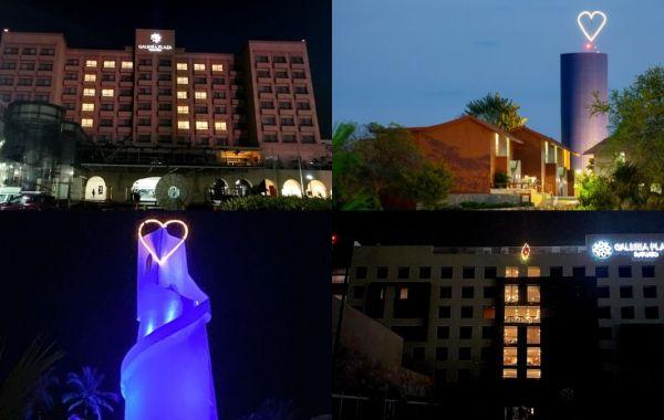 Hoteles de Grupo Brisas se iluminan por Covid 19