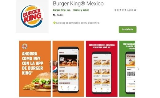 App de Burger King