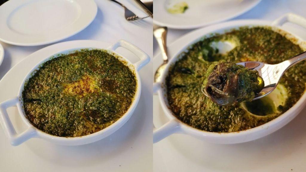 Comer caracoles