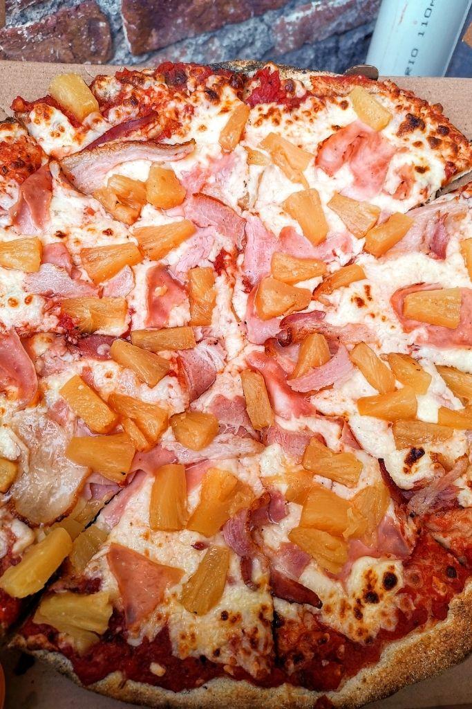 pizza a la leña