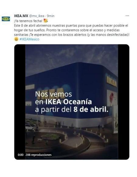 Cuándo abrirá Ikea México
