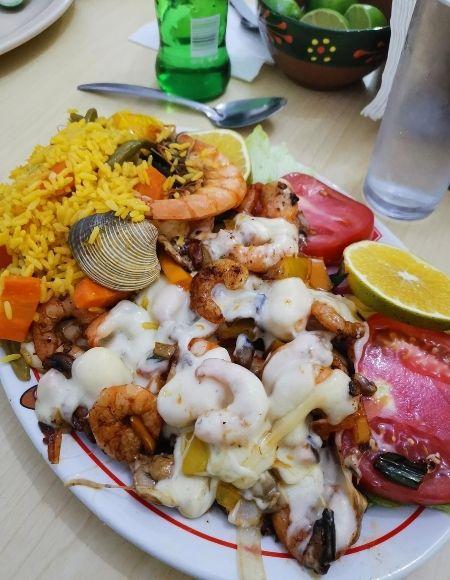 el rey del marisco restaurante