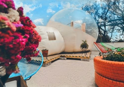hoteles burbuja cerca de ciudad de méxico