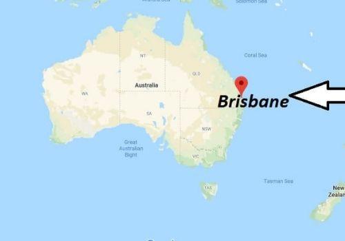 ¿Dónde queda Brisbane Australia?