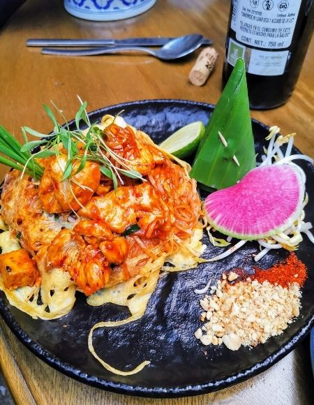 dónde comer pad thai